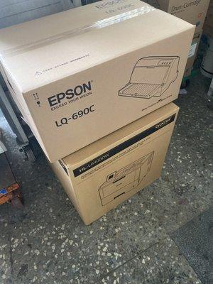 Brother HL-6400DW 黑白雷射旗艦印表機超值好禮直接送全新EPSON LQ 690C /1台
