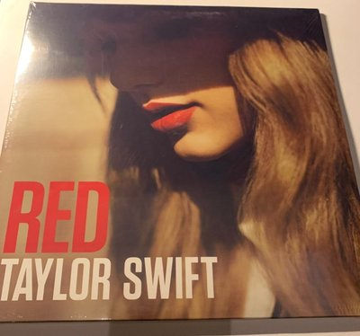 (全新未拆封)泰勒絲 Taylor Swift - RED 紅色專輯 雙碟裝黑膠LP