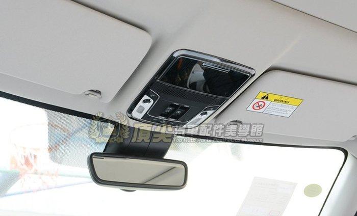 HONDA本田5代 5.5代【CRV5前閱讀燈框-黑鈦】2018-2021年CRV五代 車頂框 不鏽鋼飾條 內裝套件改裝