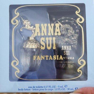 anna sui安娜蘇童話獨角獸香水禮盒送禮最佳