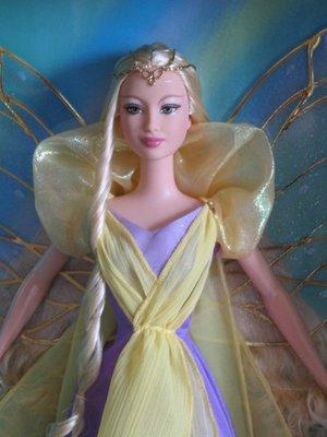 Barbie Fairytopia Enchantress 2004 彩虹仙子皇后 銀標芭比娃娃