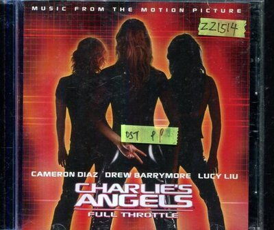 *還有唱片三館* CHARLIES ANGELS FULL THROTTLE 二手 ZZ1514 (需競標)