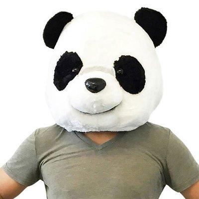 【丹】A_Big Fat Head: Panda 大熊貓 造型 帽子 頭套 COSPLAY