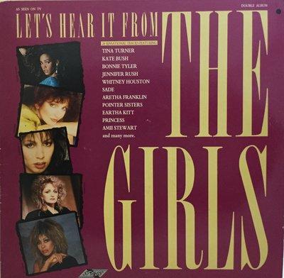 {夏荷 美學生活小舖}Let's Hear It From The Girls-2LP-1986