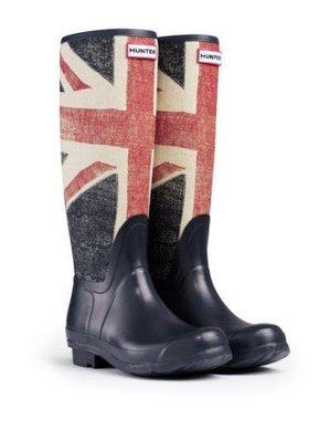 Hunter 雨靴 國旗限量版