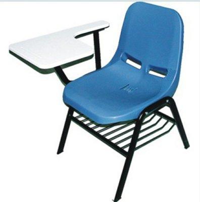 亞毅辦公家具學生 單人固定課桌椅 藍色 英文補習班課桌椅 安親班課桌椅 註標價不含運