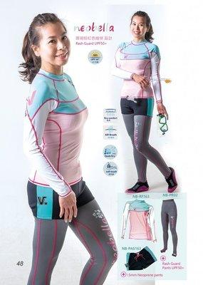 台灣潛水---V.DIVE 【Neobella 】NB-RF[女版]防曬機能運動上衣