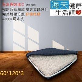 【海夫健康生活館】日本 Ease 3D立體防螨床墊 60*120*3 cm