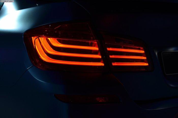【樂駒】BMW 5 Series  F10 LCI 原廠 耗材 套件 尾燈 左側 LED