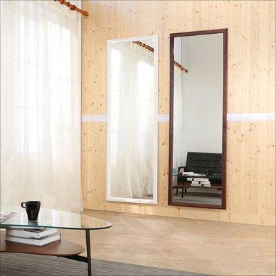 玄關/書房【居家大師】W-K-MR563 高180公分加大型實木壁鏡(鏡子/收納/立鏡/桌鏡/茶几/櫃/置物