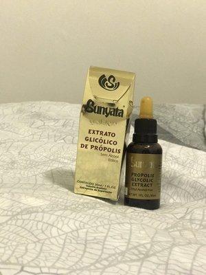 熱賣~沒貨~別下標!! 巴西蜂膠  黃金級 綠蜂膠 滴劑  Sunyata 100%巴西原裝進口---->無酒精、無花粉 台東縣