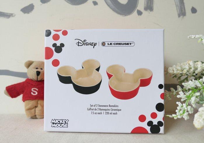 【Sunny Buy 生活館】◎現貨◎ Le Creuset 米奇烤盅組(2入) Disney 烤皿 瓷器
