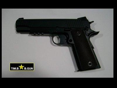晶予玩具槍~ KWC全金屬M45A1手槍CO2動力版6mm BB彈BB槍(M745)款M1911(生存遊戲6MM BB槍