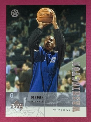 2002-03 UD SuperStars Spokesmen #UD8 Michael Jordan Wizards