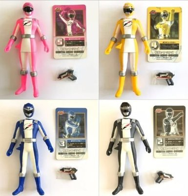 Bandai Power Ranger Boukenger Action Figure Sentai Hero Series戰隊一隻$20,兩隻$35