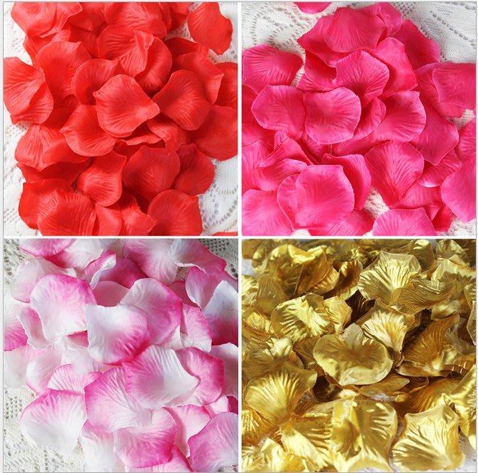 生日派對/生日佈置/婚禮佈置/花瓣佈置/道具花瓣/假花瓣