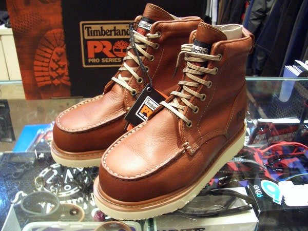{ POISON } TIMBERLAND PRO WEDGE SOLE 工作靴 皮質溫潤 RED WING 875外型