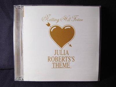 *阿威的音樂盒*【台壓絕版 Notting Hill 新娘百分百Julia Roberts 茱莉亞 羅勃茲】片況佳。