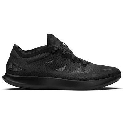 【吉米.tw】韓國代購 Salomon S/LAB PHANTASM 全黑 緩震 慢跑鞋 復古鞋 JUL