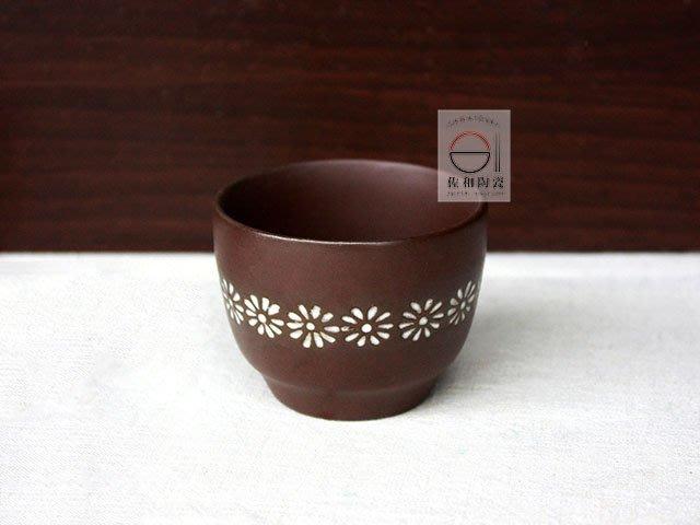 +佐和陶瓷餐具批發+【XL020807 三島陶製飲茶杯】泡茶 熱茶杯 茶杯
