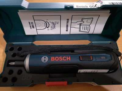 BOSCH 德國博世 BOSCH GO 3.6V 鋰電起子機 GO(超商取貨免運)