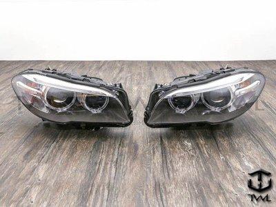 《※台灣之光※》全新BMW寶馬F10 F11 13 12 11 10 09年前期改後期原廠型HID光圈魚眼投射大燈頭燈組