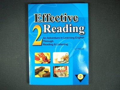 【考試院二手書】《Effective Reading2》│Ken Methold│九成新(32Z27)