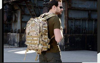 *JKB*(9款顏色) 美式軍規戰術3日背包 背包客 生存遊戲 戰術背包 登山背包 迷彩背包 後背包 單車環島