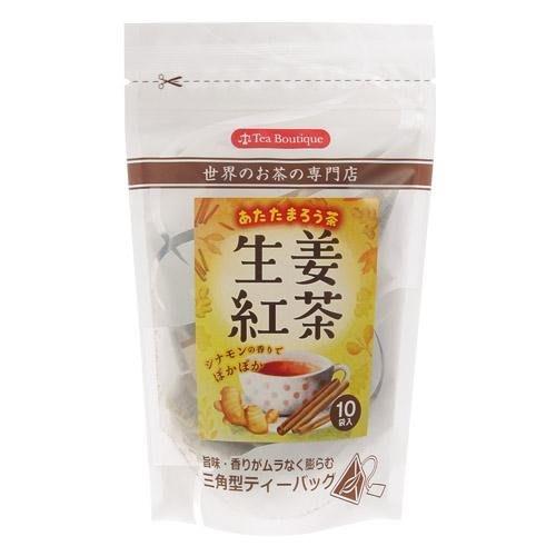 *LUCY 日韓生活館*日本製 斯里蘭卡產 肉桂薑汁紅茶 三角立體茶包 下午茶 生薑紅茶10入
