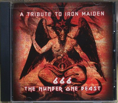 A Tribute To Iron Maiden:666 The Number One Beast 二手美版