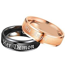 coi jewelry tungsten carbide wedding band ring 戒指Available with all sizes