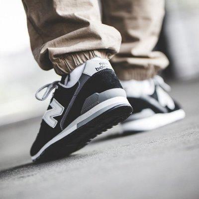 NEW BALANCE 996 黑色 黑銀色 復古 余文樂 男女鞋 CM996 CM996BP