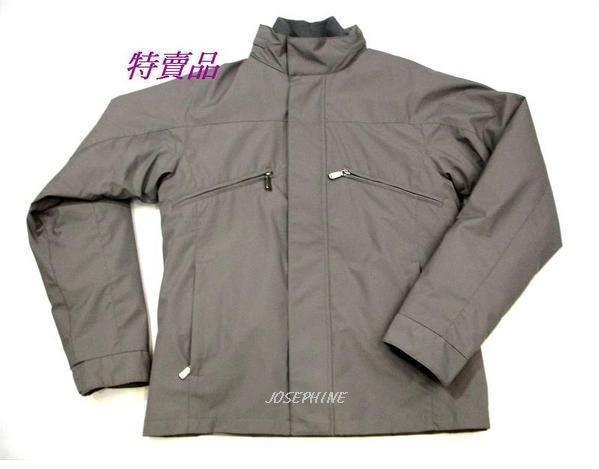 喬瑟芬【VERSACE COLLEZIONI】灰色2件可拆式鋪棉防風夾克~全新真品清倉特價!