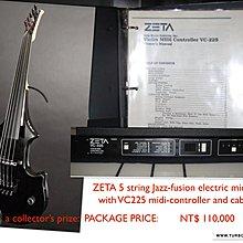 Zeta 5 string Midi Electric Violin