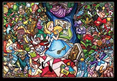 愛麗絲砌圖500塊 Alice in Wonderland