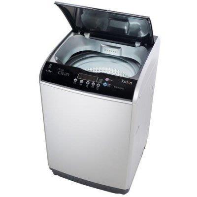 Kolin 歌林 《BW-13S02》 13公斤 九種行程 強力瀑布水流 不銹鋼內槽 單槽洗衣機 桃園市