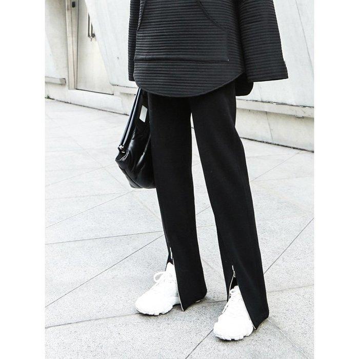 RVP|顯腿長|百搭加厚加絨前拉鍊顯瘦長腿褲-12157
