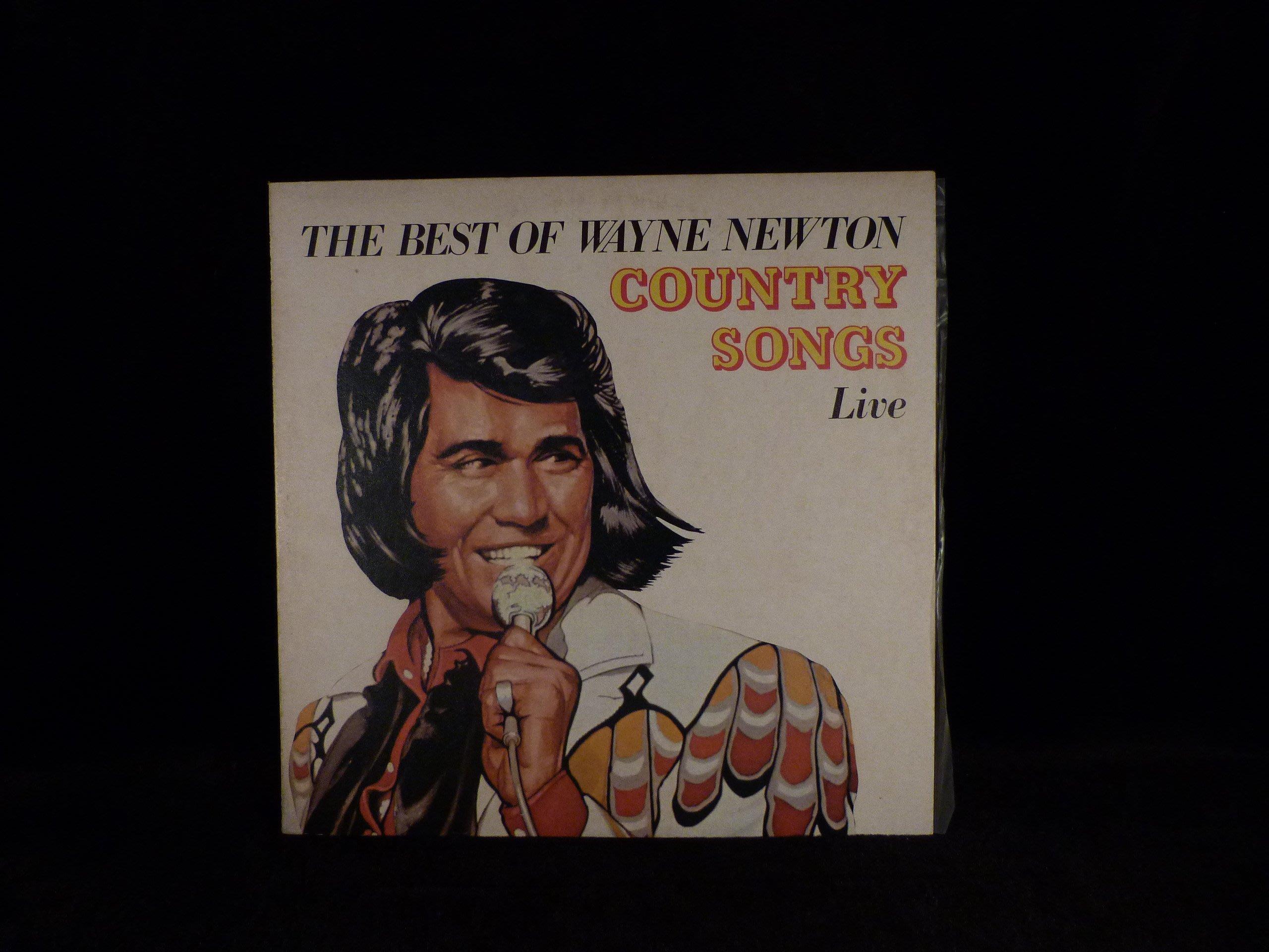 乖乖@賣場LP唱片12吋西洋黑膠 the best of wayne newton country songs liue