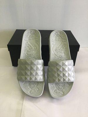 全新 Ash studded strap sandals 菱形壓紋涼拖鞋 銀色 37號 現貨