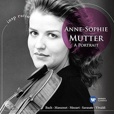 小提琴天后慕特名演集( 靈感 26) /慕特 Anne-Sophie Mutter---5099962814423