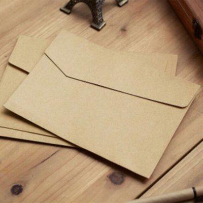 牛皮信封袋 高質感 封蠟 封蠟章 火漆 火漆章 火漆印 尺寸為17*12公分