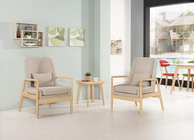 CH191-2  奧蒂爾休閒沙發單人椅 /大台北地區/系統家具/沙發/床墊/茶几/高低櫃/1元起