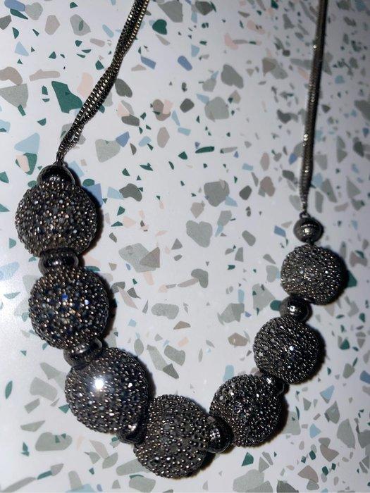國外帶回超級美的水晶球項鍊🎉
