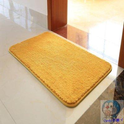 Candy 小鋪ヾ金黃色衛生間地墊入戶門腳墊門墊進門門廳衛浴吸水防滑墊臥室地毯