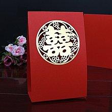 新款❤結婚席位卡 歐式婚禮嘉賓桌卡 個性創意桌牌婚宴座位卡 大紅簍空囍款