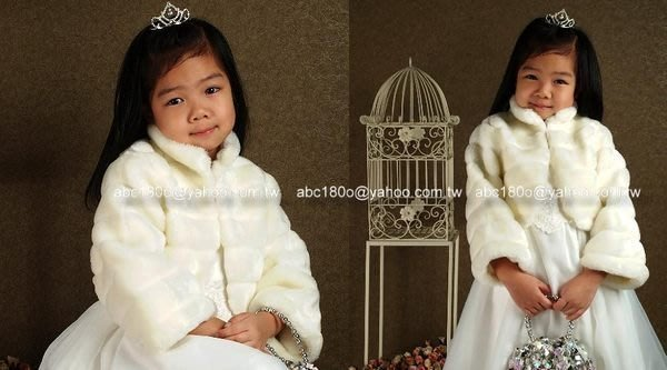 Honey Baby~NO 505 花童外套,冬季厚外套 披風,披肩,搭配小禮服外套(S~L下標區)適合95~140cm