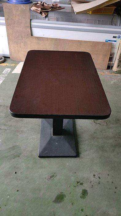 二手家具全省估價(大台北冠均 泰山店)二手貨中心--簡單經典木製餐桌 餐廳桌 早餐桌 咖啡桌 R-060793
