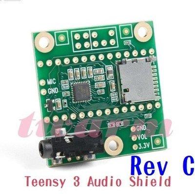 《德源科技》r)Sparkfun原廠 Teensy 3 Audio Shield(Rev C)開發板 (DEV-1542
