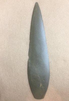 【小小的】~  卑南文化 ~ [美品]台灣史前文化 原住民 石矛 石刀 台北市