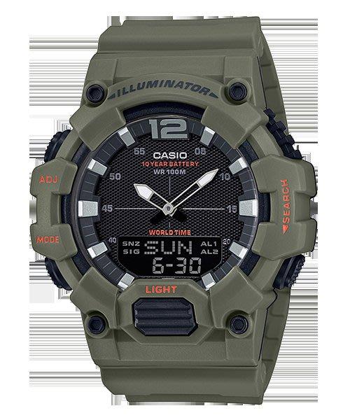 [ㄚ寶3C ] CASIO HDC-700-3A2 液晶部分可顯示日期與星期,搭載10年電力的電池